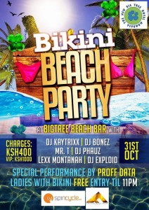BIKINI BEACH PARTY