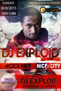DJ EXPLOID NICE POOL PARTY