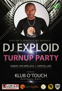 DJ Exploid _TurnUp Party (Club O'Touch)