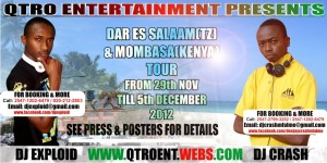 Event 29-11-12(TANZANIA_COAST TOUR)