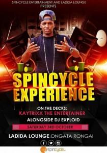 Spincycle Experience, Kaytrixx & Dj Exploid 2