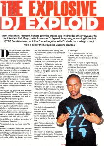 The Explosive'' DJ Exploid
